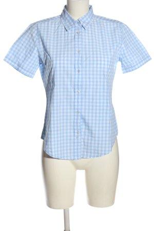Marc O'Polo Camicia da boscaiolo blu-bianco stampa integrale elegante
