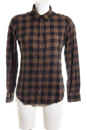 Marc O'Polo Holzfällerhemd braun-schwarz Karomuster Casual-Look