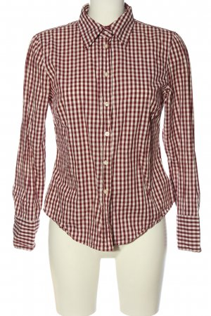 Marc O'Polo Lumberjack Shirt red-natural white allover print casual look
