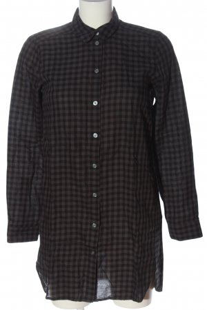 Marc O'Polo Holzfällerhemd schwarz-braun Karomuster Casual-Look