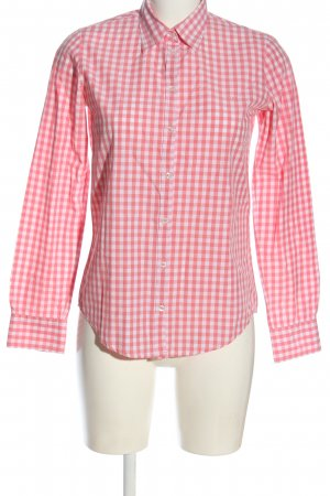 Marc O'Polo Holzfällerhemd pink-weiß Allover-Druck Casual-Look