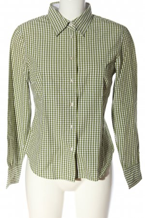 Marc O'Polo Holzfällerhemd grün-weiß Karomuster Casual-Look