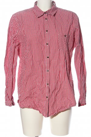 Marc O'Polo Holzfällerhemd rot-weiß Karomuster Casual-Look
