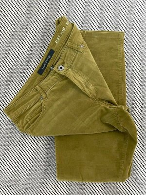 Marc O'Polo Five-Pocket Trousers olive green