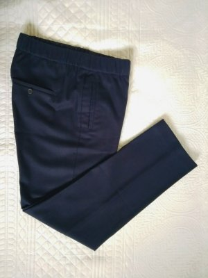 Campus by Marc O'Polo Pantalon en jersey bleu laine
