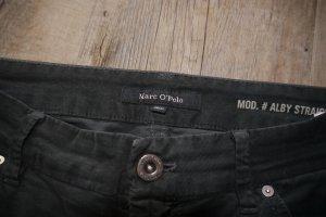 Marc O'Polo Pantalon en velours côtelé gris anthracite coton