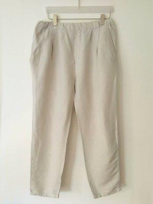 Marc O'Polo Pantalón de lino beige claro Lino
