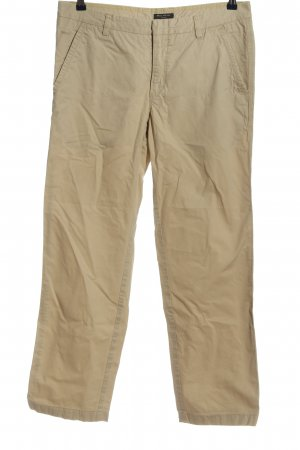 Marc O'Polo Pantalon taille basse crème style décontracté