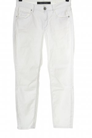 Marc O'Polo Low-Rise Trousers white casual look