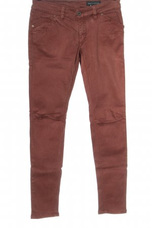 Marc O'Polo Jeans taille basse brun style décontracté