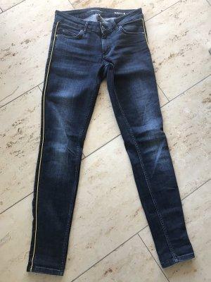 Marc O'Polo Jeans skinny giallo-blu scuro