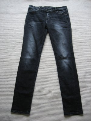 marc o polo jeans grau/schwarz gr. m 38 topzustand