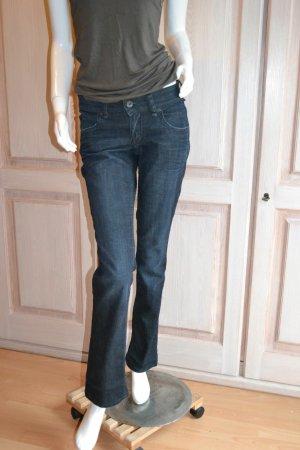Marc'O Polo Jeans Hose schwarz blau 34 Sveja 27/32 TOP used Look