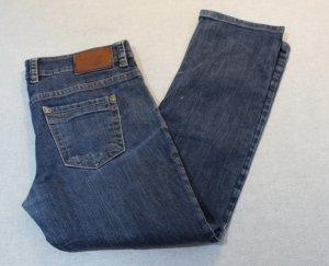 Marc O'Polo Jeans coupe-droite bleu foncé coton