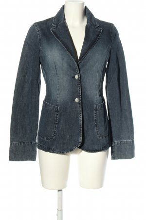 Marc O'Polo Jeansblazer blau Casual-Look