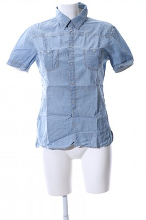 Marc O'Polo Camisa vaquera azul look casual