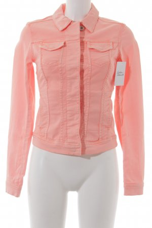 Marc O'Polo Jeansjacke neonorange Casual-Look