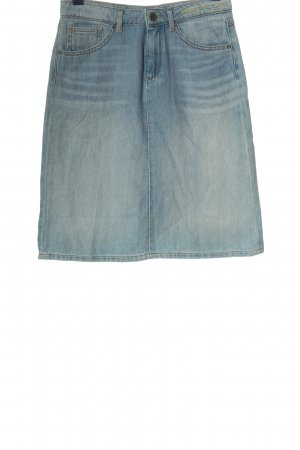 Marc O'Polo Jeansrock blau Casual-Look