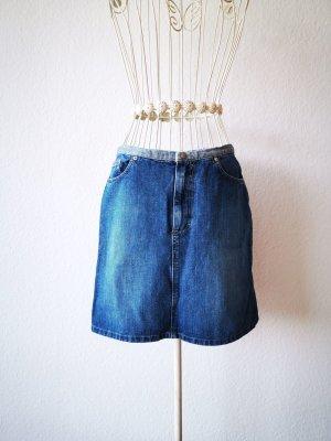 Marc O'Polo Mini rok blauw Denim