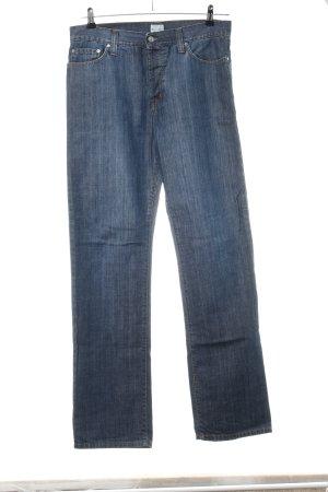 Marc O'Polo Straight-Leg Jeans blau Casual-Look