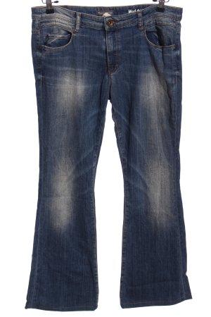 Marc O'Polo Jeans a zampa d'elefante blu stile casual