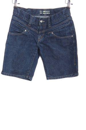 Marc O'Polo Short en jean bleu style décontracté