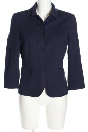 Marc O'Polo Jerseyblazer blau Casual-Look