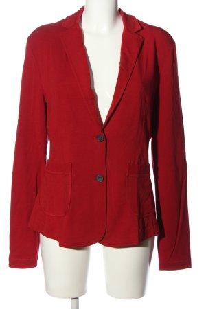 Marc O'Polo Blazer en jersey rouge style classique