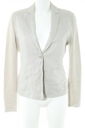 Marc O'Polo Jersey Blazer natural white weave pattern business style