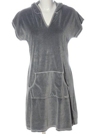 Marc O'Polo Robe à capuche gris clair style décontracté