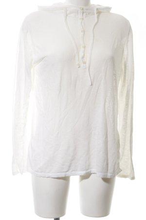 Marc O'Polo Top à capuche blanc style décontracté