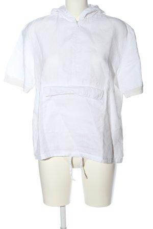 Marc O'Polo Blusa con capucha blanco look casual