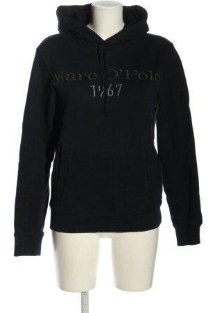 Marc O'Polo Kapuzensweatshirt schwarz Casual-Look