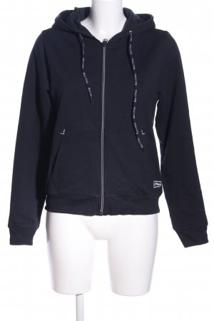 Marc O'Polo Kapuzensweatshirt blau Motivdruck Casual-Look