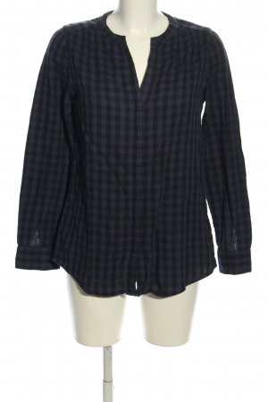 Marc O'Polo Checked Blouse blue-black allover print casual look