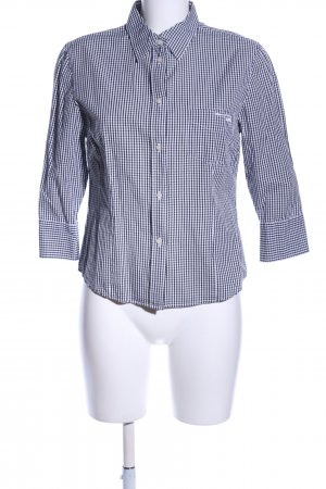 Marc O'Polo Checked Blouse black-white check pattern casual look