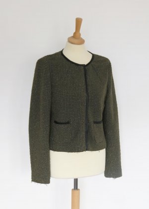 Marc O Polo khaki Tweed Blazer Cardigan 38