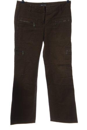 Marc O'Polo Pantalón de camuflaje marrón look casual