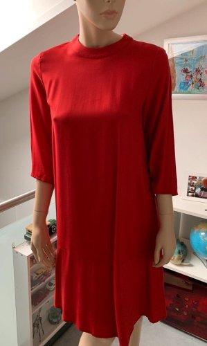 Marc O'Polo Flounce Dress red