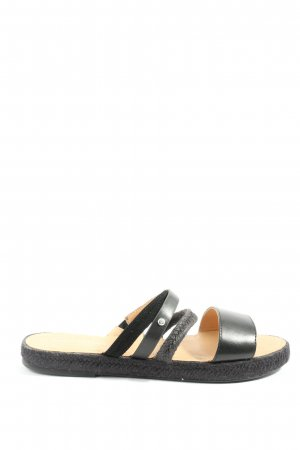 Marc O'Polo Comfort Sandals black casual look