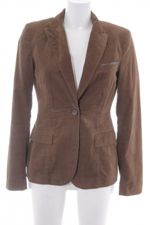 Marc O'Polo Kurz-Blazer braun Business-Look