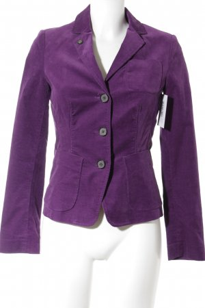 Marc O'Polo Kurz-Blazer lila Casual-Look