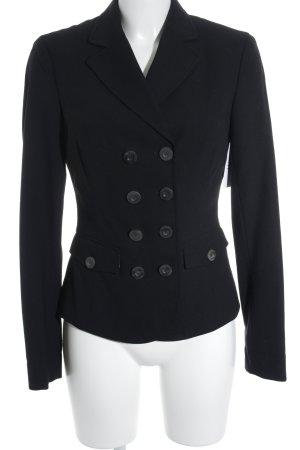 Marc O'Polo Kurz-Blazer schwarz-weiß klassischer Stil