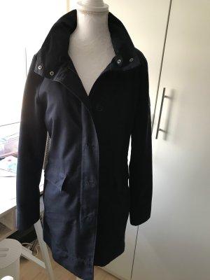 Marc O Polo Kurz - Mantel Übergangs Mantel Jacke neuwertig Gr. 36, blau, dark navy dunkelblau