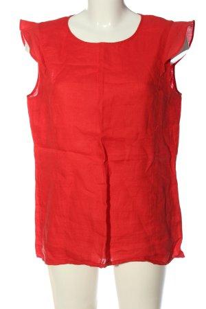 Marc O'Polo Kurzarm-Bluse rot Casual-Look