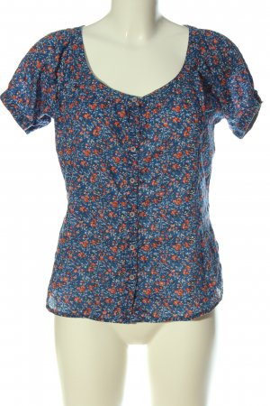 Marc O'Polo Short Sleeved Blouse abstract pattern casual look