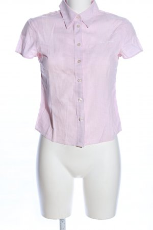 Marc O'Polo Short Sleeve Shirt pink-white allover print business style