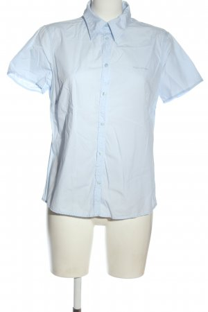 Marc O'Polo Kurzarmhemd blau Casual-Look