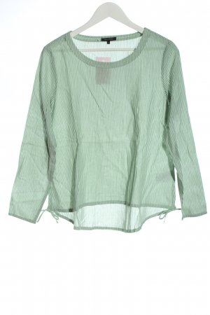 Marc O'Polo Langarm-Bluse grün-weiß Streifenmuster Business-Look