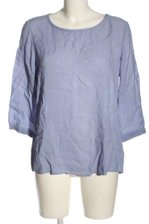 Marc O'Polo Langarm-Bluse blau Casual-Look